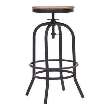 distressed industrial furniture. adelaide distressed natural barstool emfurn industrial furniture
