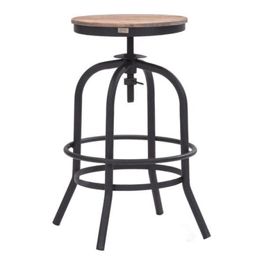 distressed industrial furniture. adelaide distressed natural counter stool emfurn industrial furniture