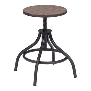Talon Rustic Wood Stool Free Shipping