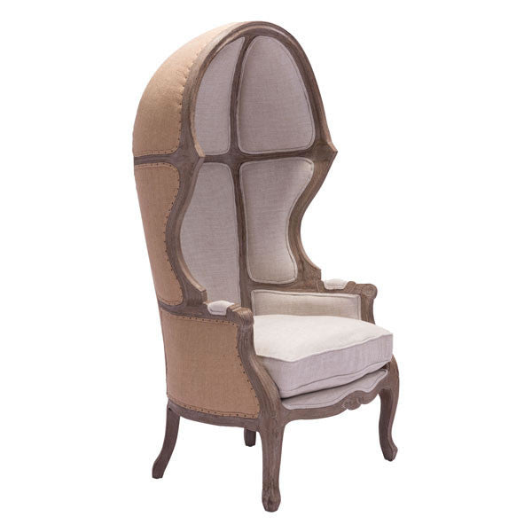 Ellice Beige Occasional Chair - living-essentials