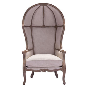 Ellice Beige Occasional Chair Accent Chairs Free Shipping