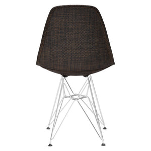 Emfurn Eiffel Style Fabric Dining Chair Chairs Free Shipping