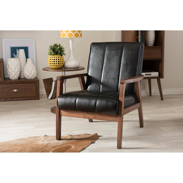Nikki Retro Lounge Chair - living-essentials