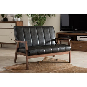 Nikki Retro Loveseat Loveseats Free Shipping