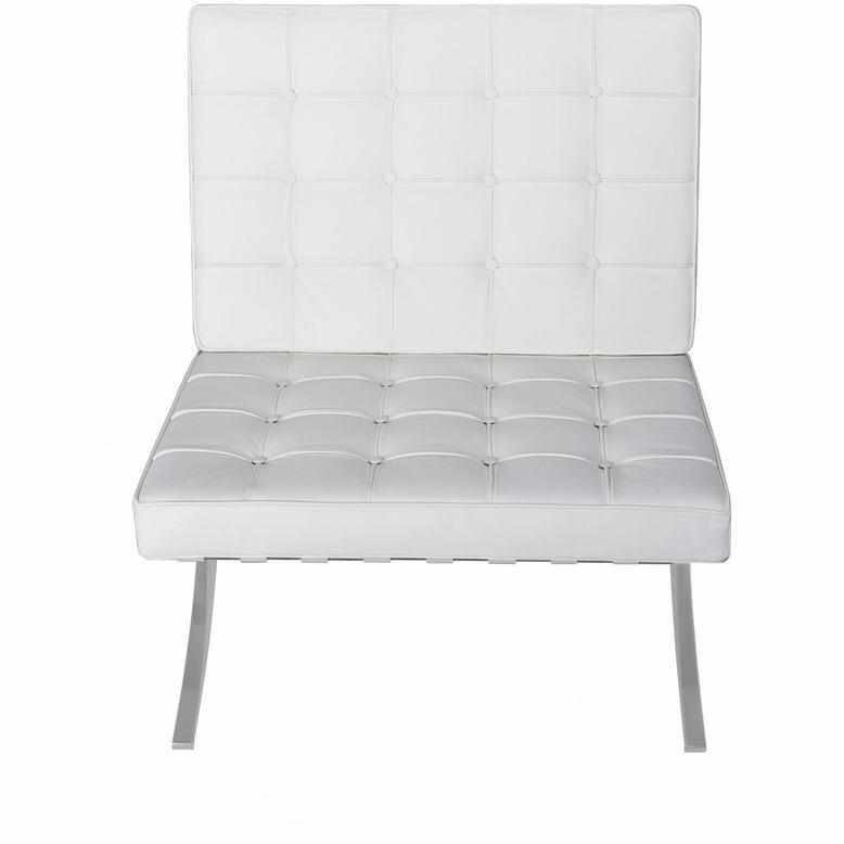 Barcelona Style Chair u0026 Ottoman  sc 1 st  EMFURN & Barcelona Style Chair u0026 Ottoman Reproduction - EMFURN