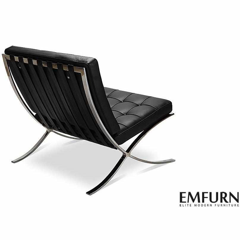 Phenomenal Barcelona Style Chair Ottoman Reproduction Emfurn Caraccident5 Cool Chair Designs And Ideas Caraccident5Info