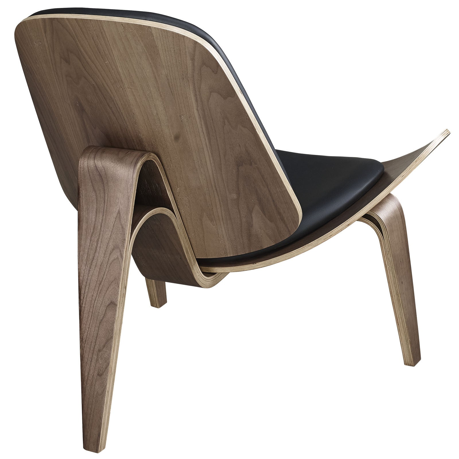 Hans Wegner Vinyl Shell Chair Replica EMFURN