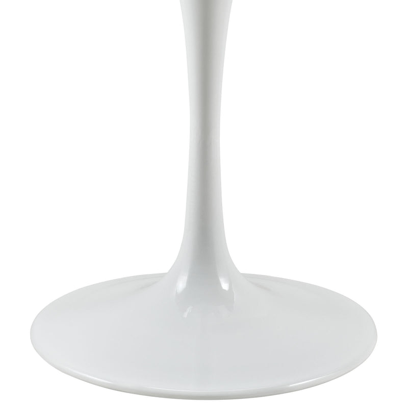 "Tulip Style 28"" Marble Dining Table - living-essentials"
