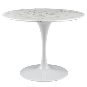 Tulip Style 40 Artificial Marble Dining Table Tables Free Shipping