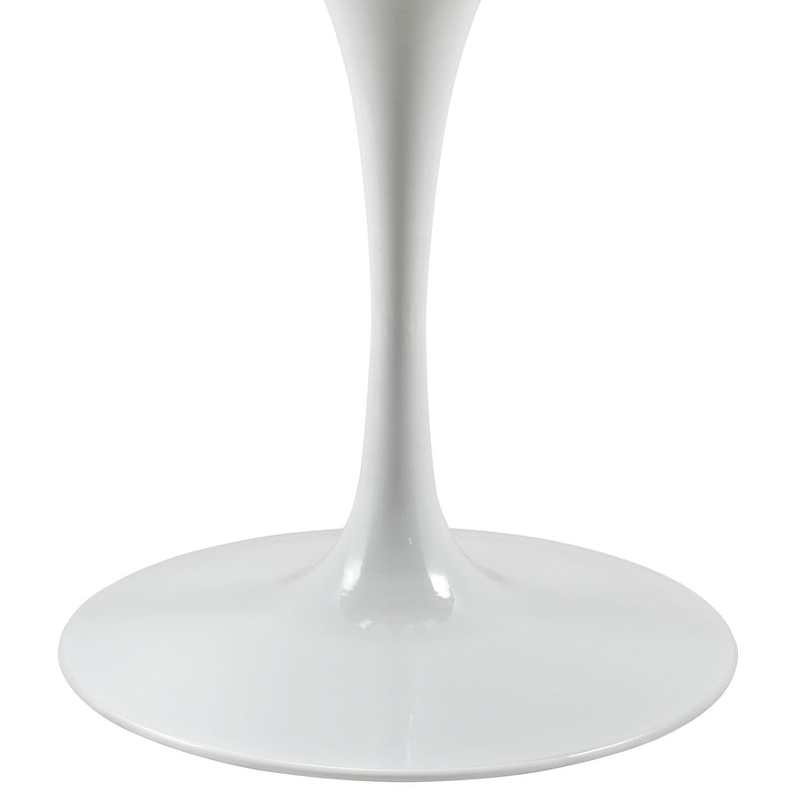 "Tulip Style 40"" Artificial Marble Dining Table"