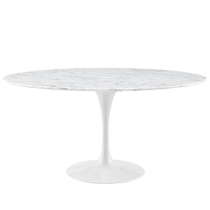 Tulip Style 60 Marble Dining Table Tables Free Shipping