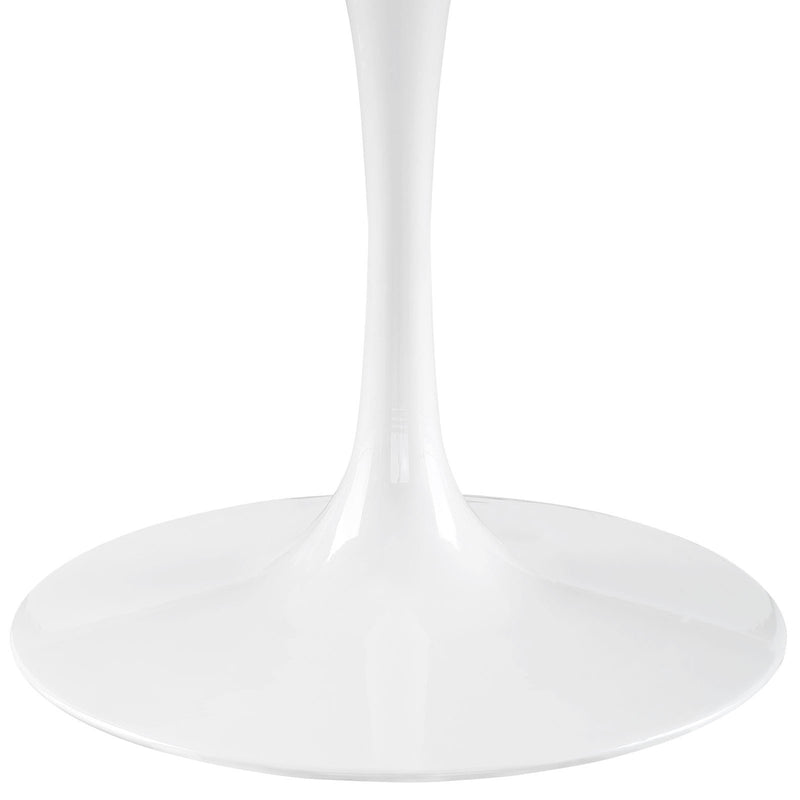 "Tulip Style 60"" Marble Dining Table - living-essentials"