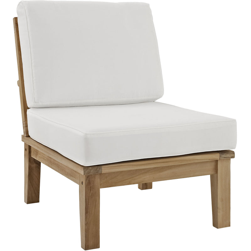 Marine Outdoor Patio Teak Chair - living-essentials