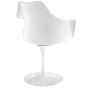 Tulip Style Dining Armchair White Black Chairs Free Shipping