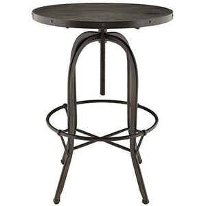 Savvy Wood Top Bar Table Black Tables Free Shipping