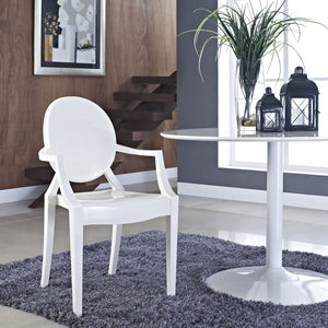 Ghost Style Dining Armchair Chairs Free Shipping