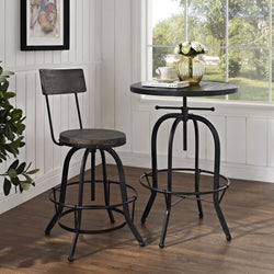 Secure Wood Bar Stool - living-essentials