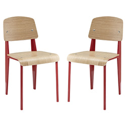 Shed Dining Side Chair Set of 2 - living-essentials