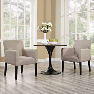 Jane Accent/dining/office Armchair Set Of 2 Beige Accent Chairs Free Shipping