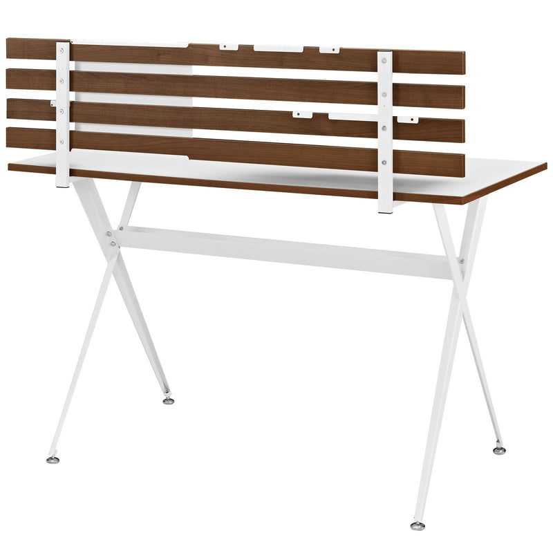 Knicks Wood Office Desk - living-essentials