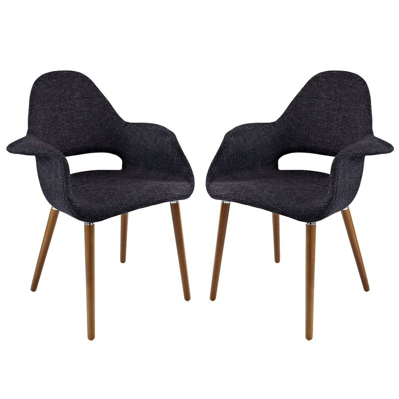 Emfurn Organic Dining Armchair Set of 2 - living-essentials