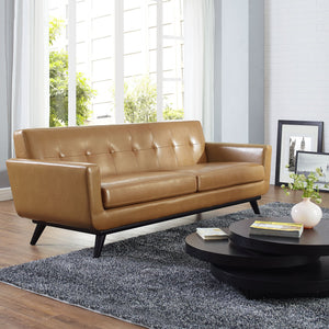 Queen Mary Leather Sofa - living-essentials