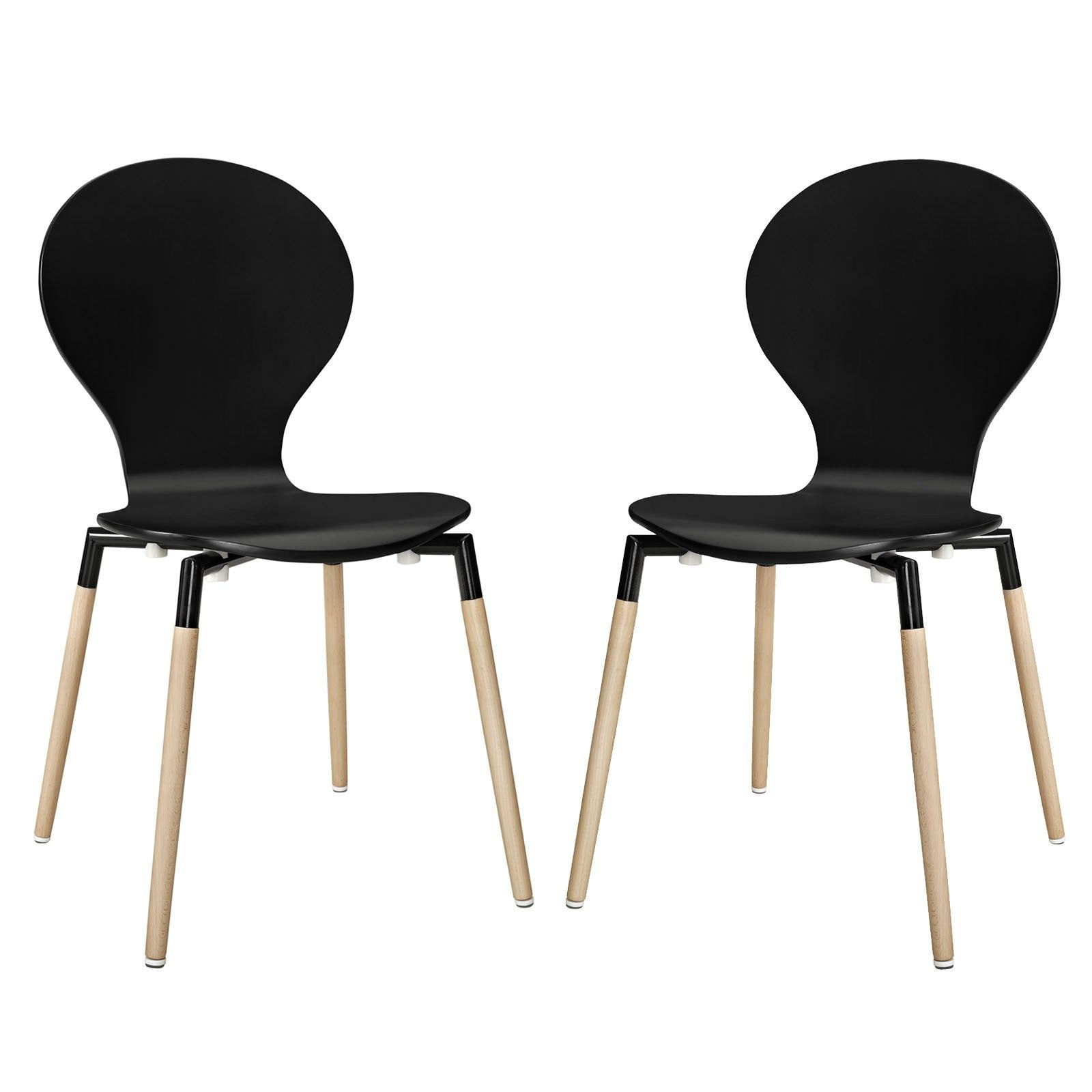 Aisle dining chair set of 2 emfurn 2 seat dining set