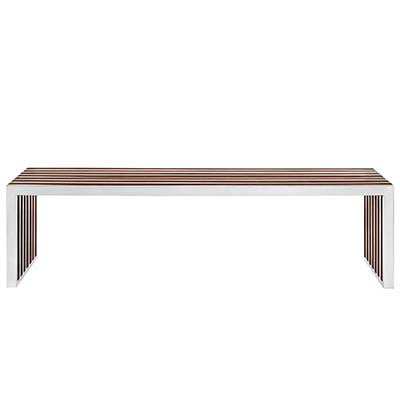 Field Large Wood Bench - living-essentials
