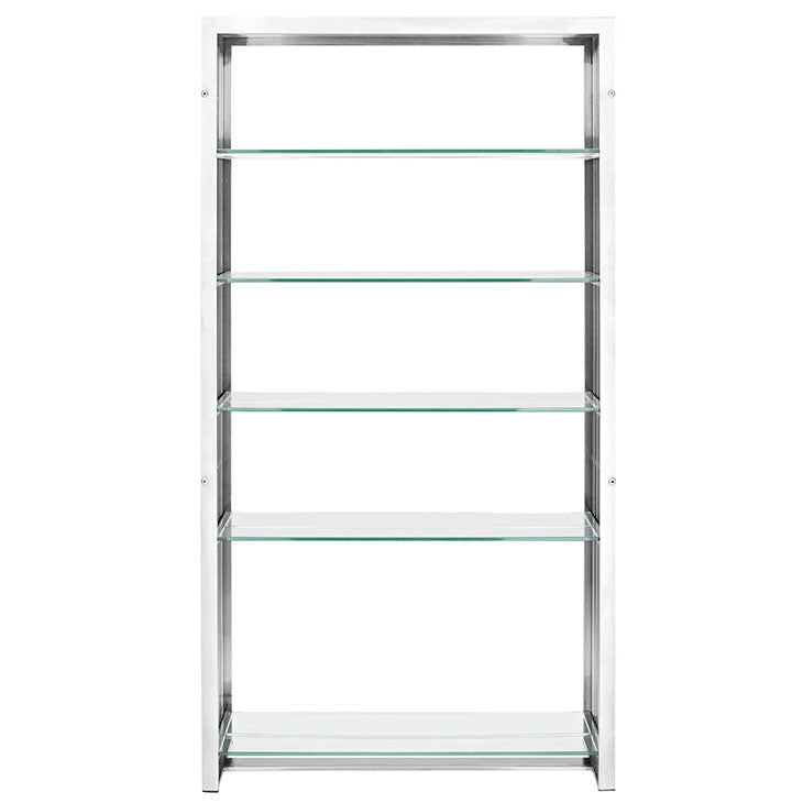 Platform Stainless Steel Bookshelf - living-essentials
