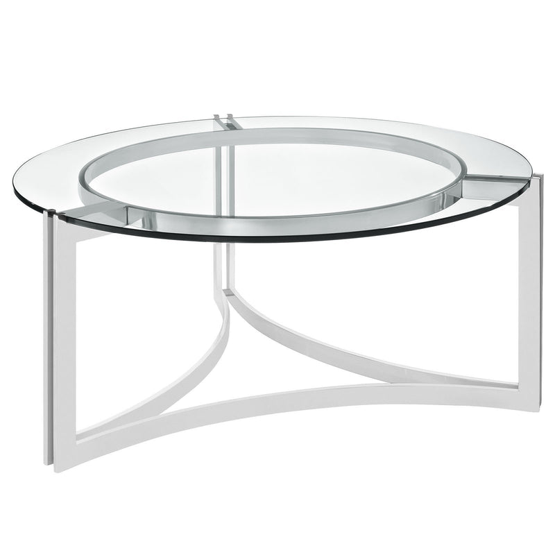Seal Stainless Steel Coffee Table - living-essentials