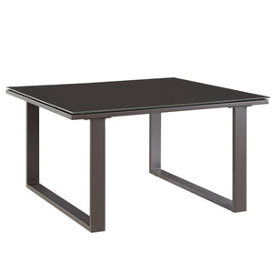 Alfresco Outdoor Patio Side Table Brown Free Shipping