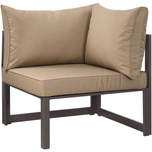 Alfresco Outdoor Corner Patio Armchair - living-essentials