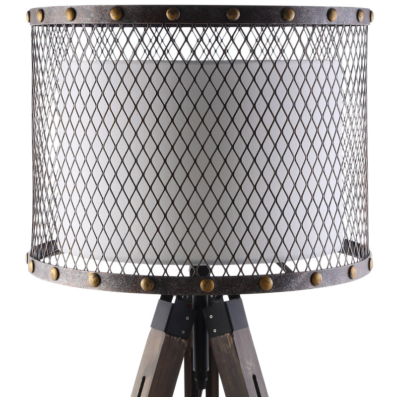 Mesh Floor Lamp - living-essentials