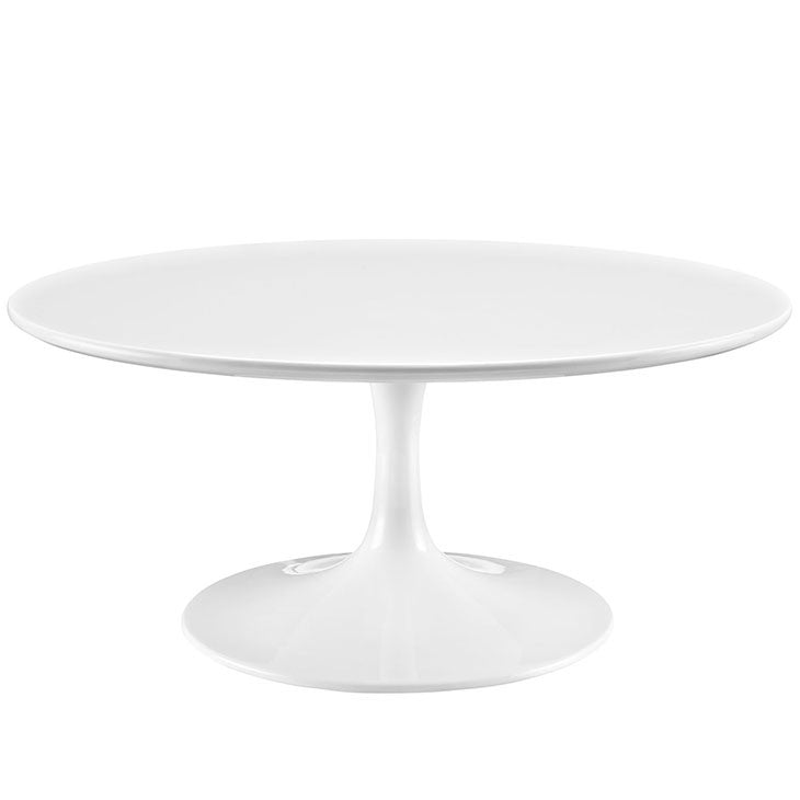 Tulip Style 36 White Coffee Table Free Shipping