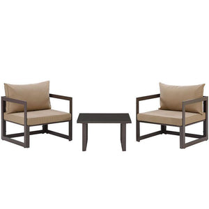 Alfresco 3 Piece Outdoor Patio Chair Set - living-essentials