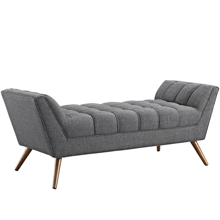 Echo Medium Fabric Bench - living-essentials