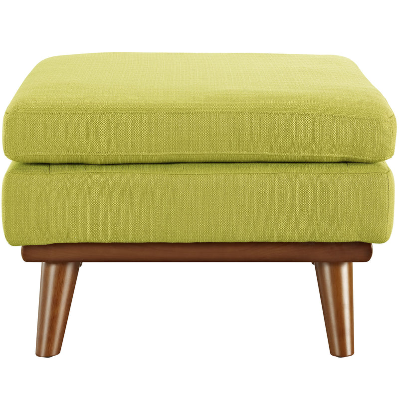 Queen Mary Fabric Ottoman - living-essentials