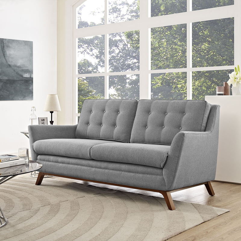 Enchant Fabric Loveseat - living-essentials
