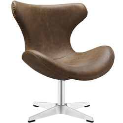 Steed Vinyl Lounge Chair - living-essentials