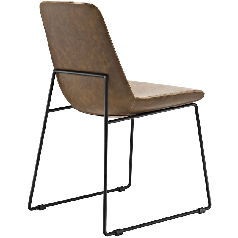 Allure Vinyl Dining Chair - living-essentials