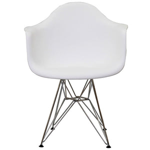 Eiffel Tower Dining Armchair White Chairs Free Shipping
