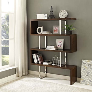Logan Contemporary Bookshelf - living-essentials