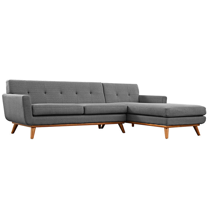 Queen Mary Right-Facing Sectional Sofa - living-essentials