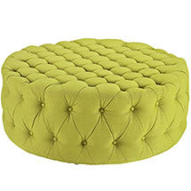 Love Fabric Ottoman - living-essentials