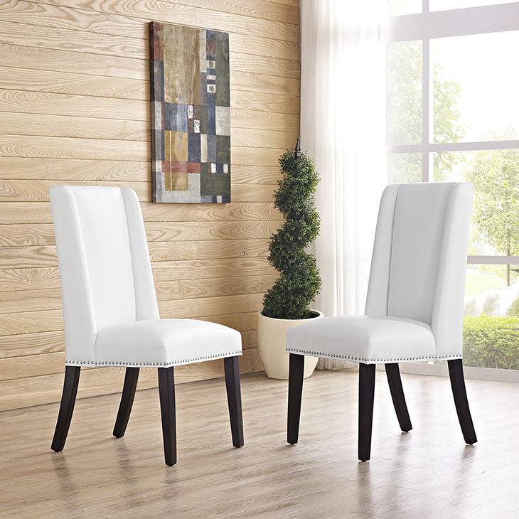 Mogul Vinyl Dining Chair - living-essentials