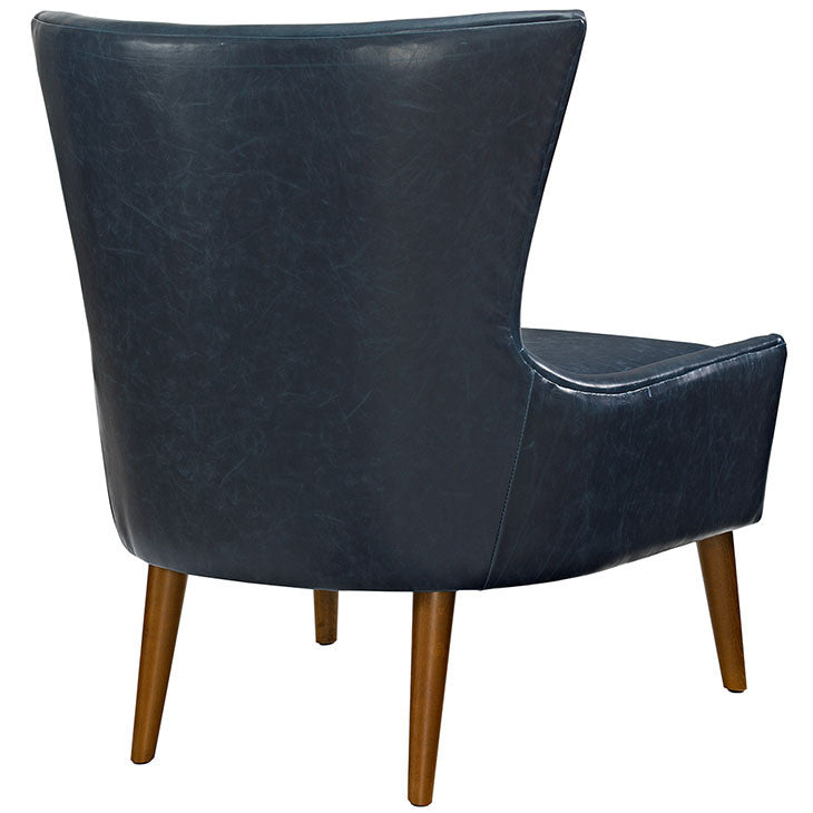 Kyle Vinyl Armchair - living-essentials