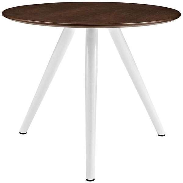"Tulip Style Tripod Base 36"" Walnut Dining Table - living-essentials"