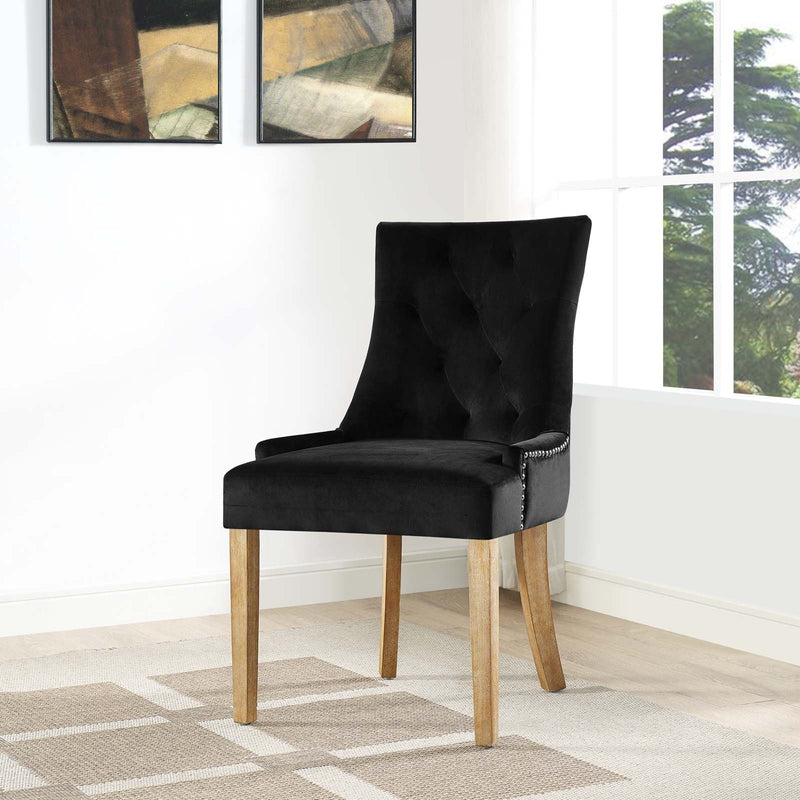 Pacey Upholstered Fabric Dining Chair - living-essentials