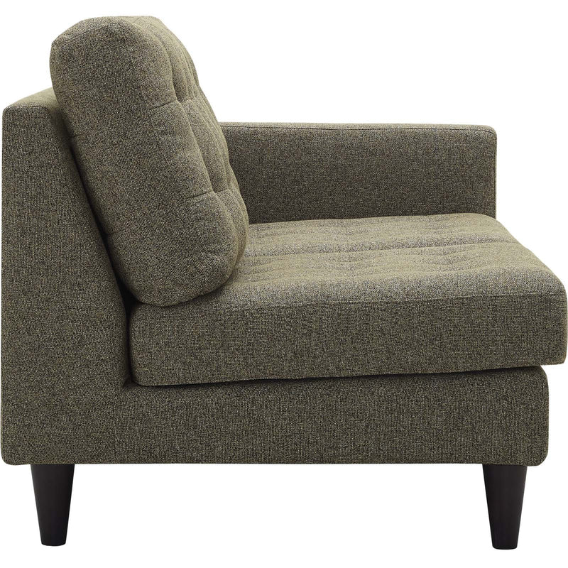 Emmy Right-facing Upholstered Fabric Loveseat - living-essentials