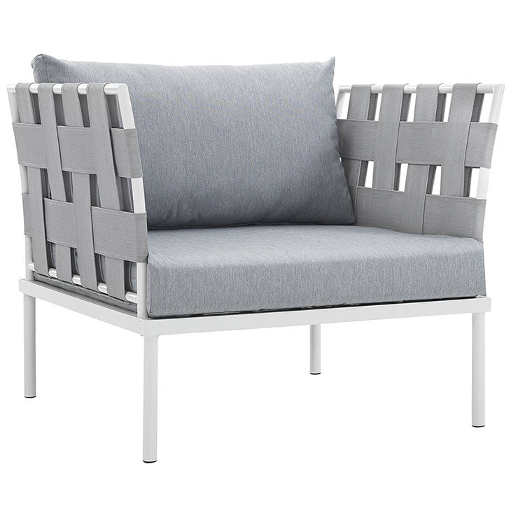 Peace Outdoor Patio Aluminum Armchair - living-essentials